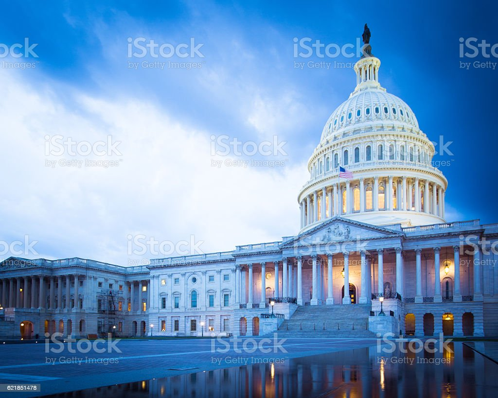 U.S. Capitol Building stock photo