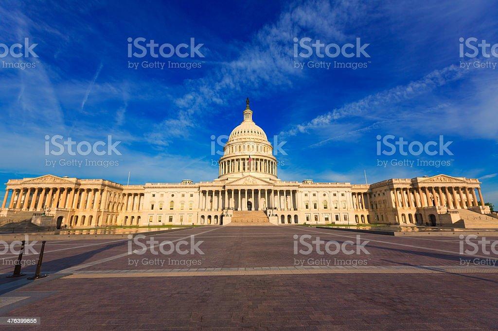 Capitol building Washington DC east facade US stock photo