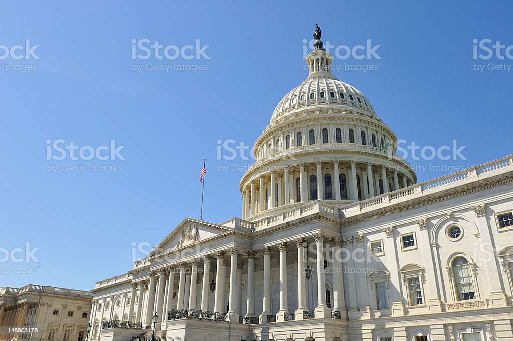 US Capitol Building -  Washington, DC stock photo