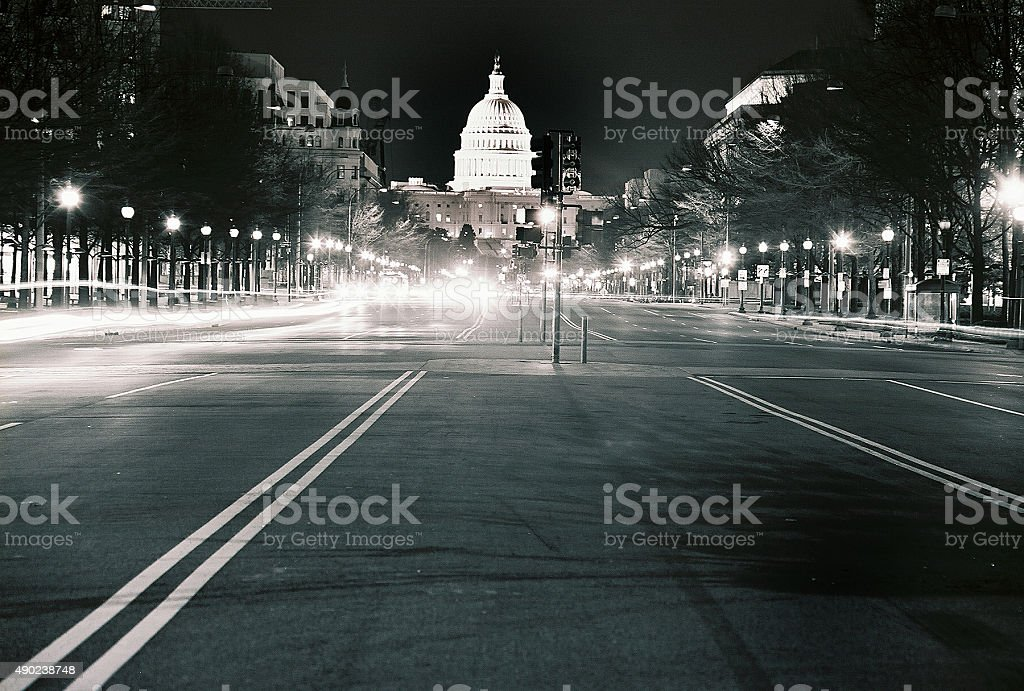 U.S. Capitol Building, Washington D.C. stock photo