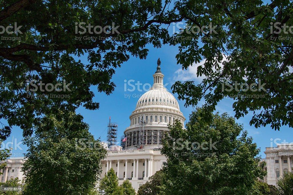 Capitol Building, Washington D.C., United States stock photo