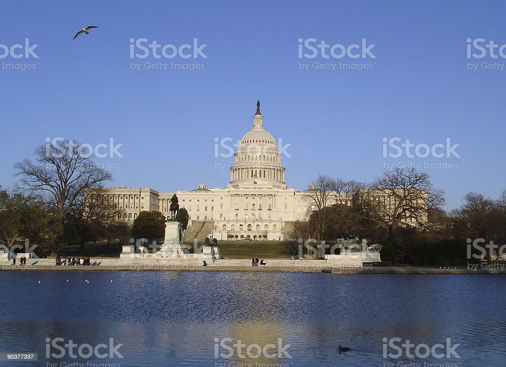 Capitol Center stock photo