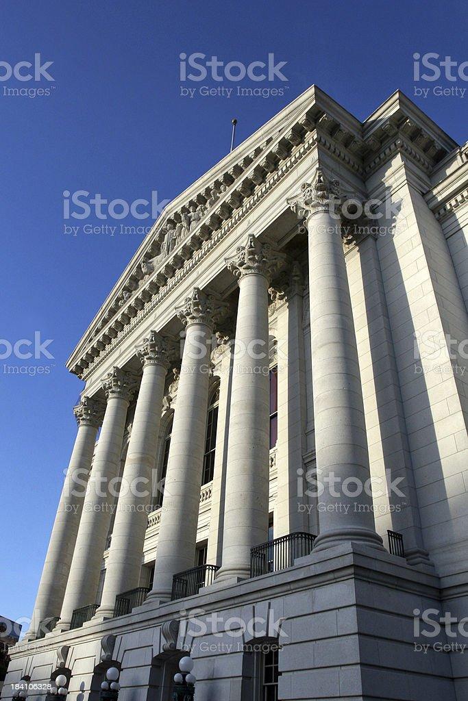Capitol Columns royalty-free stock photo