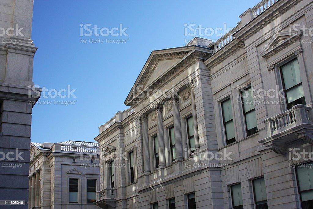 Capitol Complex Harrisburg, PA stock photo