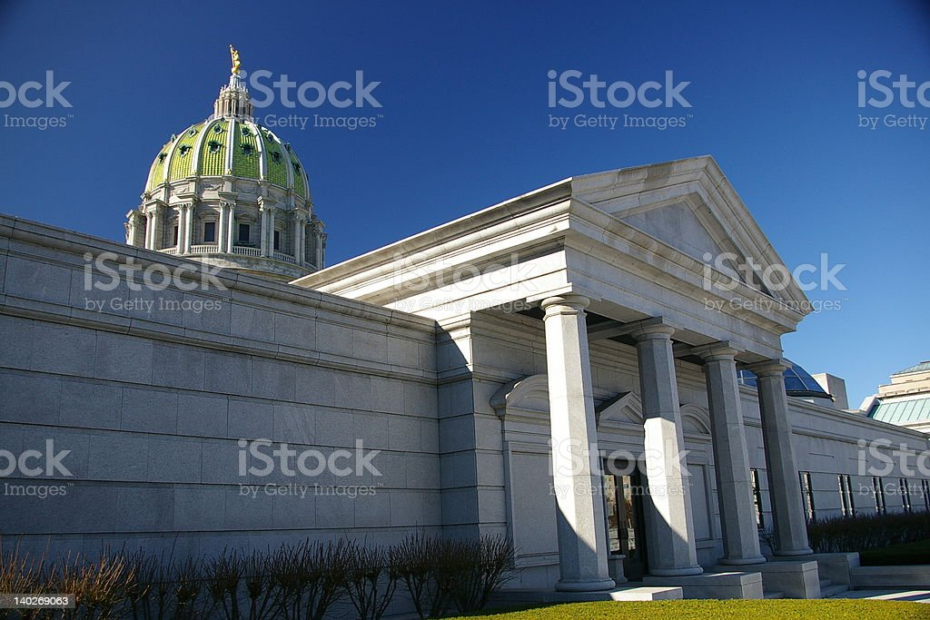 Capitol Complex royalty-free stock photo
