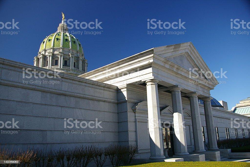 Capitol Complex stock photo