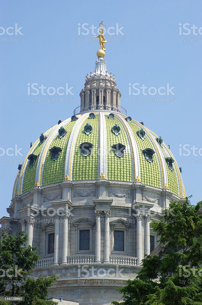 Capitol Complex Rotunda Dome stock photo
