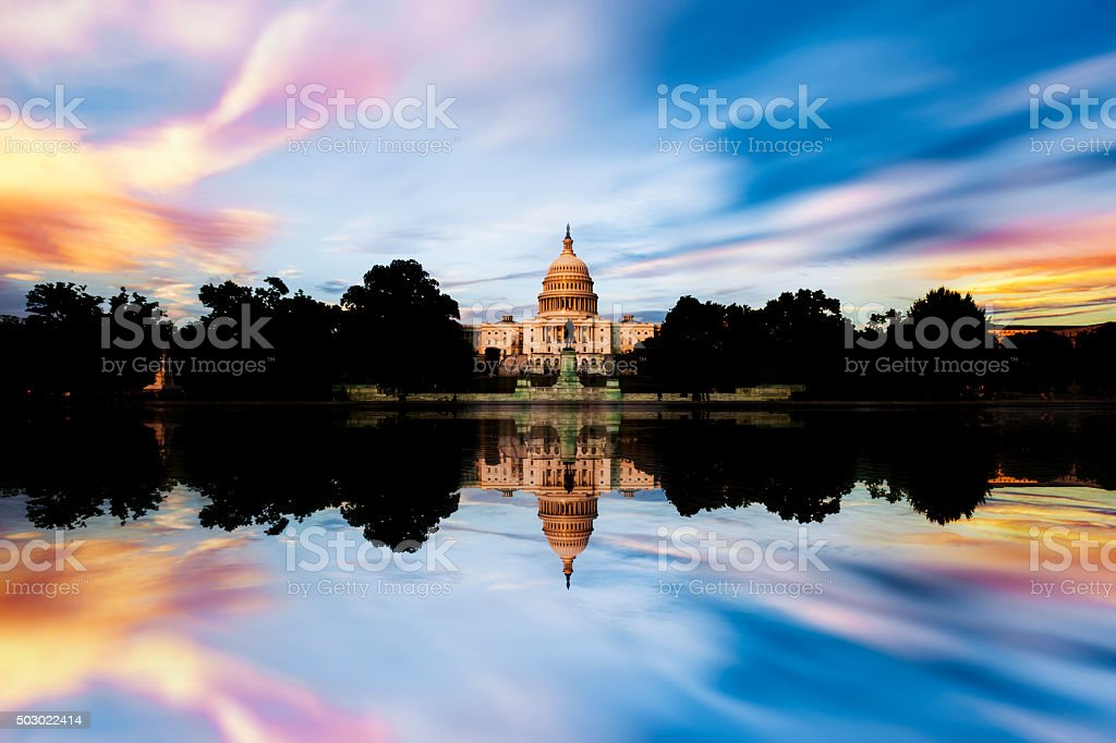 Capitol, DC stock photo