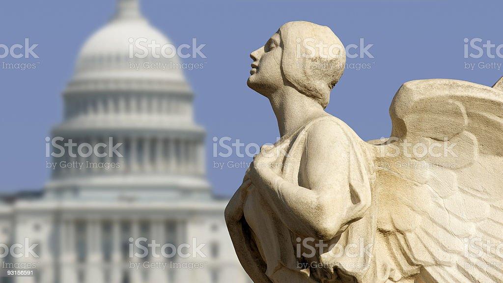Capitol Democracy stock photo