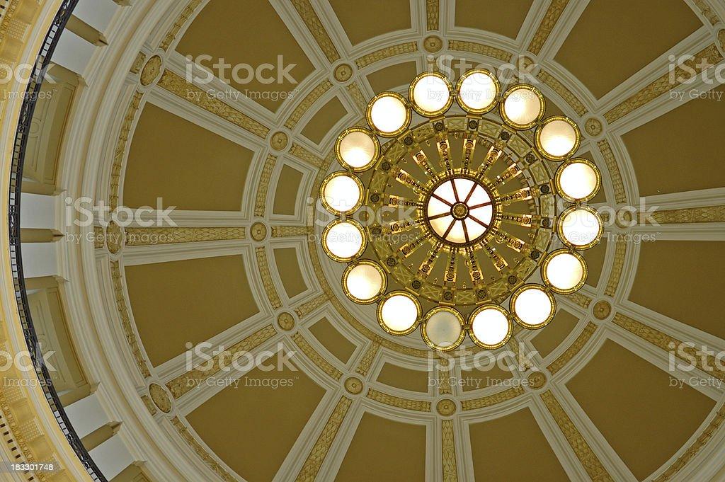 Capitol Dome Interior royalty-free stock photo