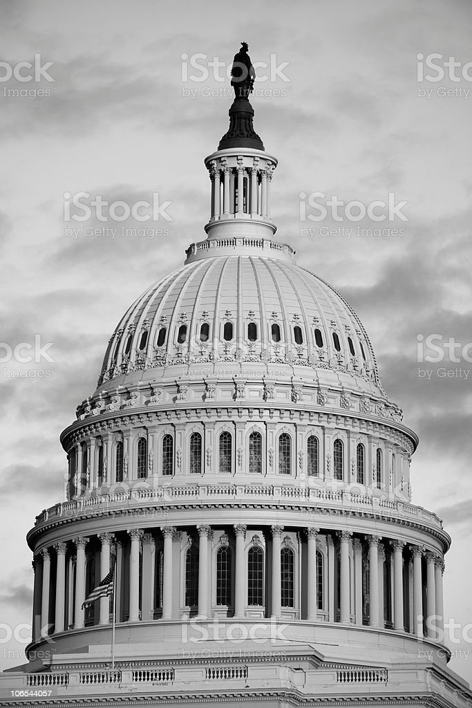 USA Capitol Dome royalty-free stock photo