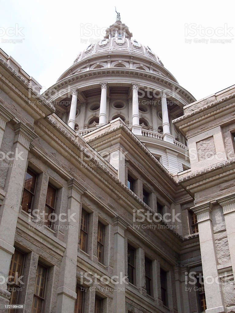 Capitol Exterior royalty-free stock photo