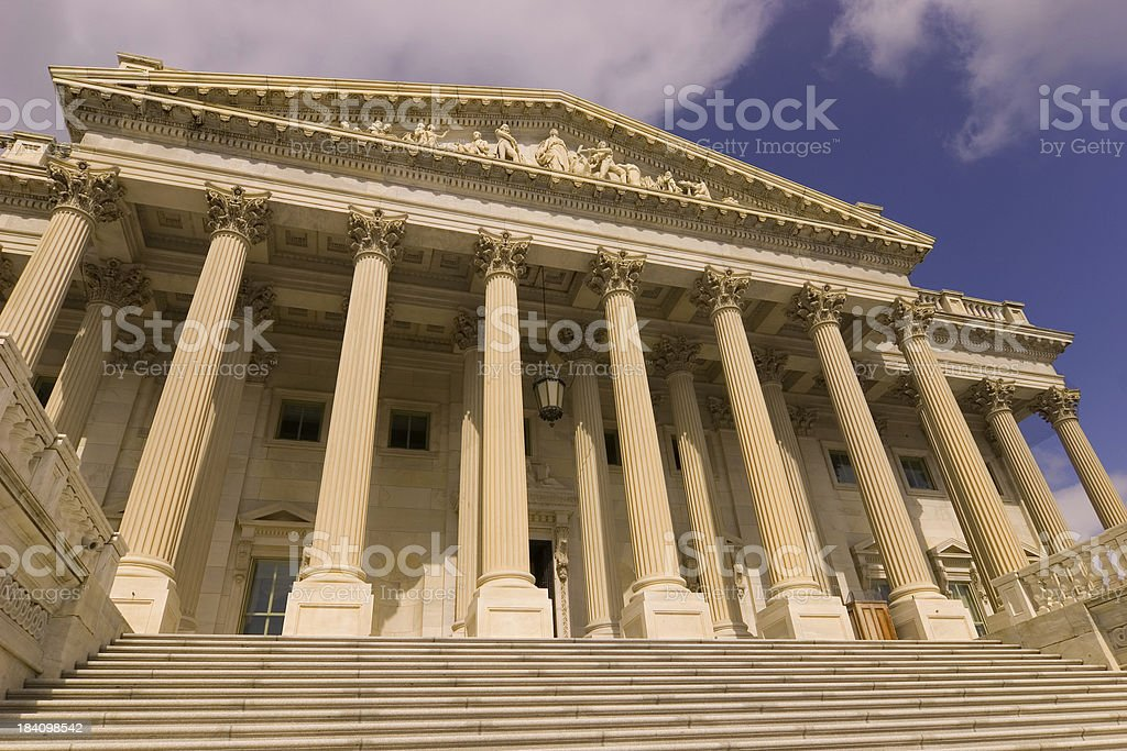 Capitol hill royalty-free stock photo