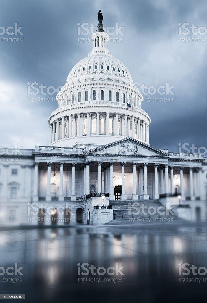 Capitol Hill, USA stock photo