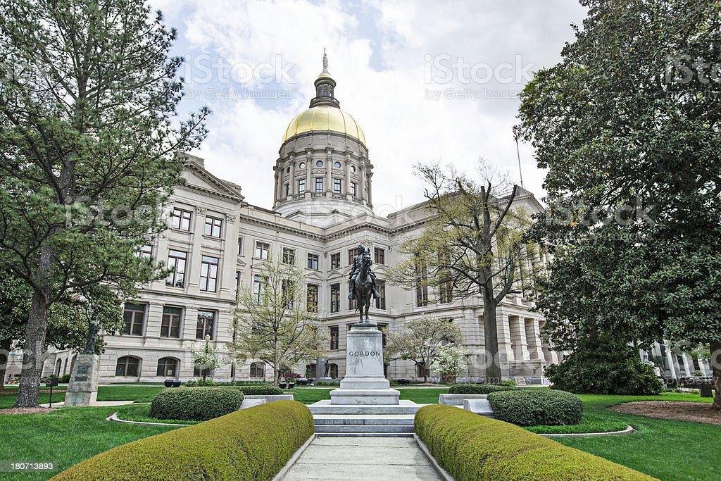 Capitol in Atlanta stock photo