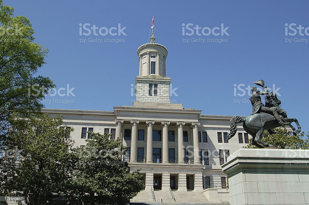 Capitol in Nahville royalty-free stock photo