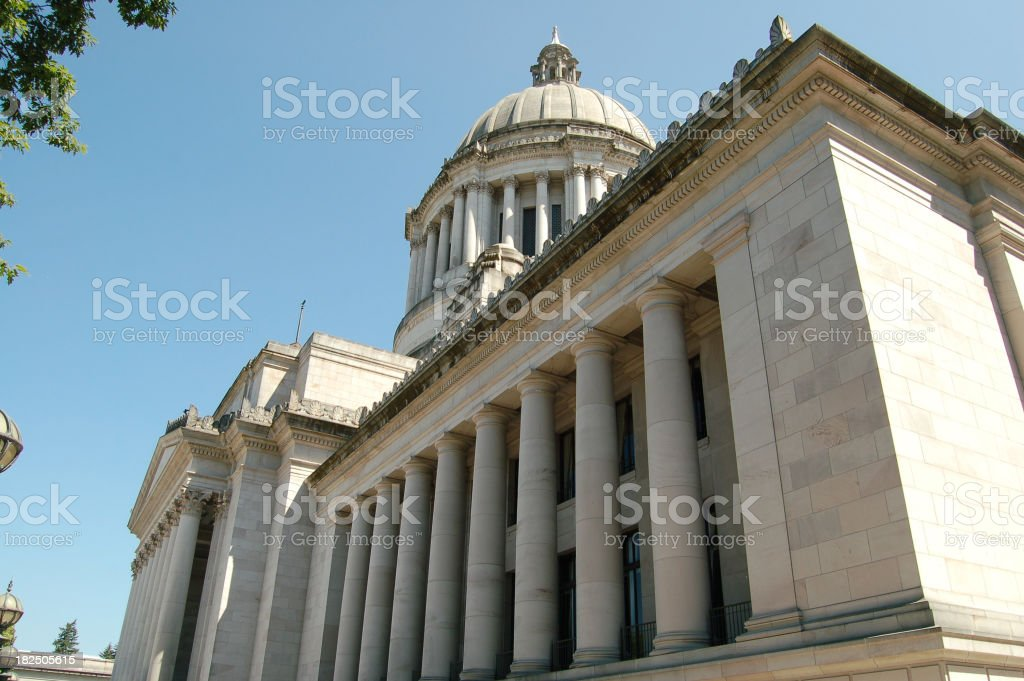 Capitol in Washington State royalty-free stock photo