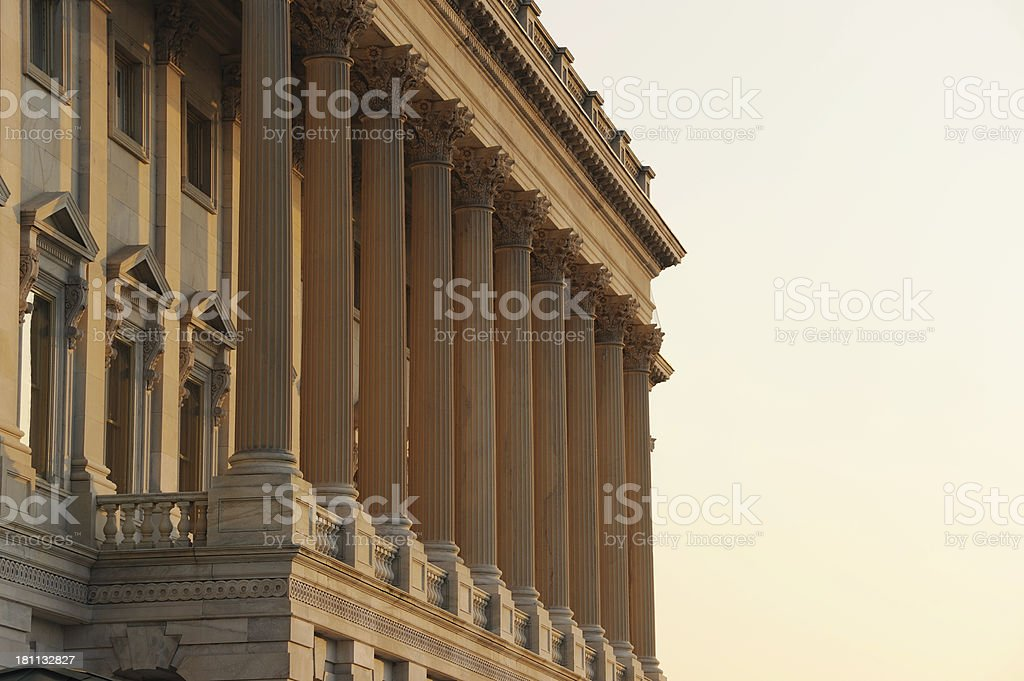 Capitol of the United States royalty-free stock photo