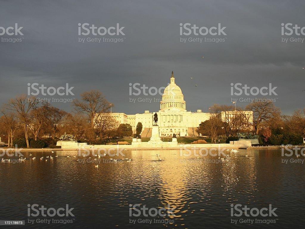 Capitol royalty-free stock photo