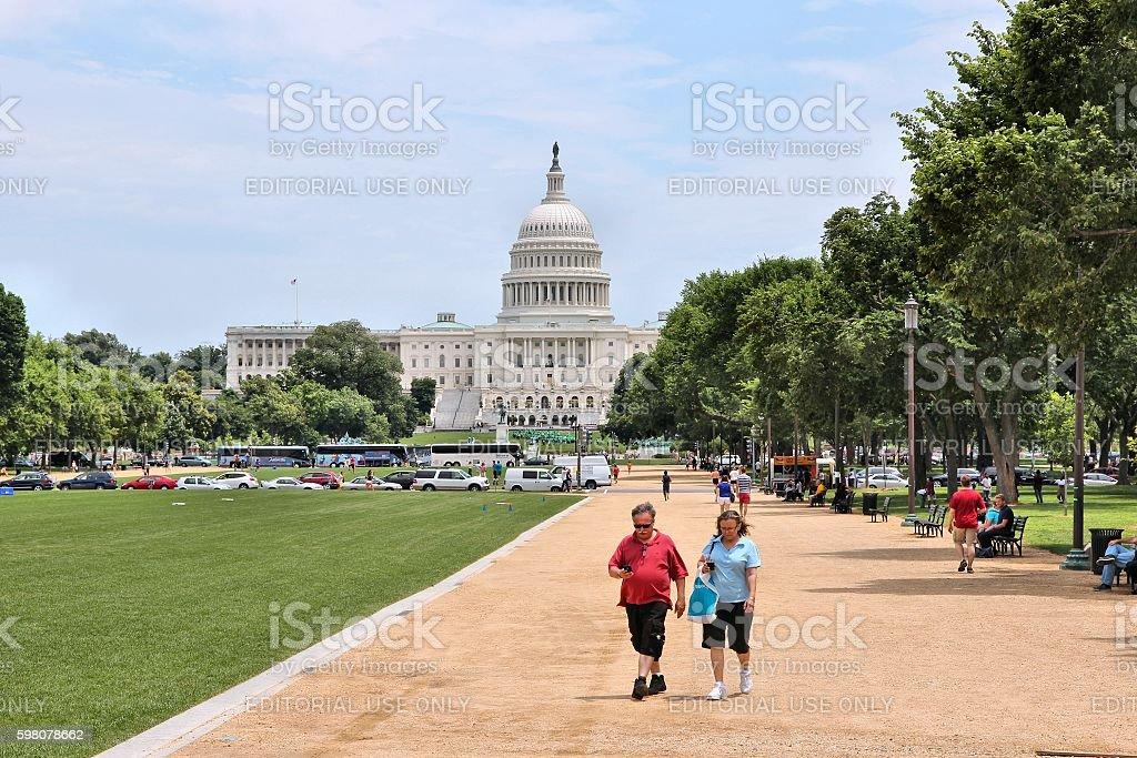 US Capitol stock photo