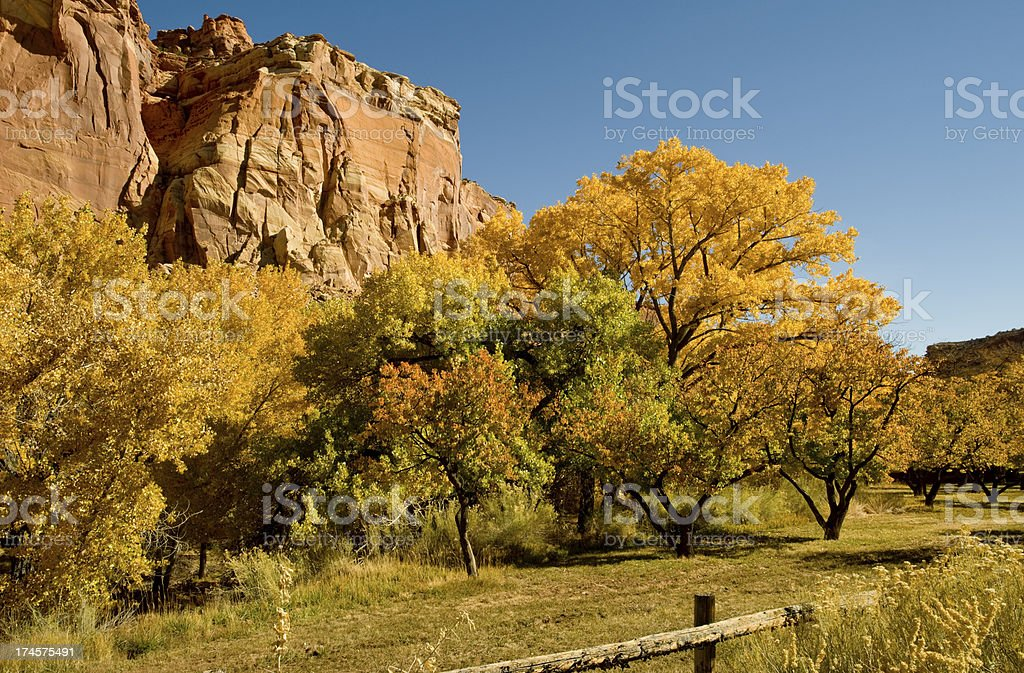 Capitol Reef National Park, Utah stock photo