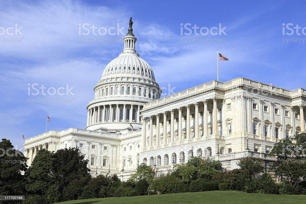 US Capitol, Washington DC stock photo