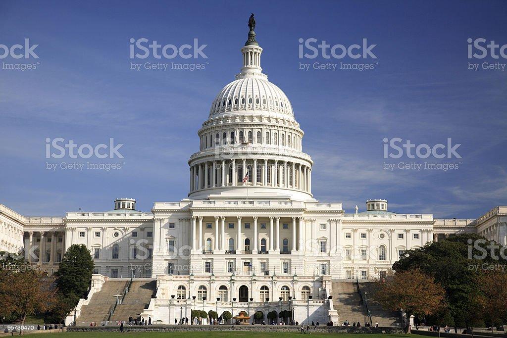 US Capitol, Washington DC royalty-free stock photo
