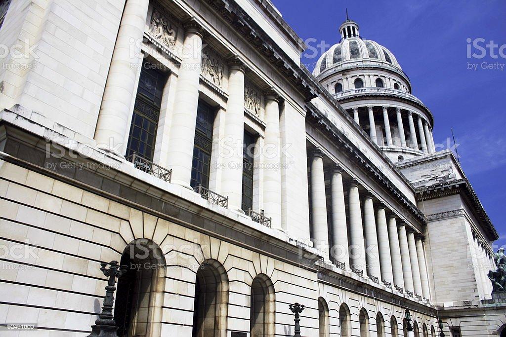 Capitolio Cuba royalty-free stock photo