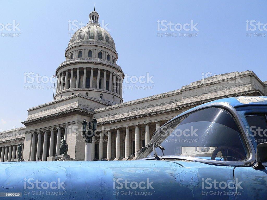 Capitolio National, Havana stock photo
