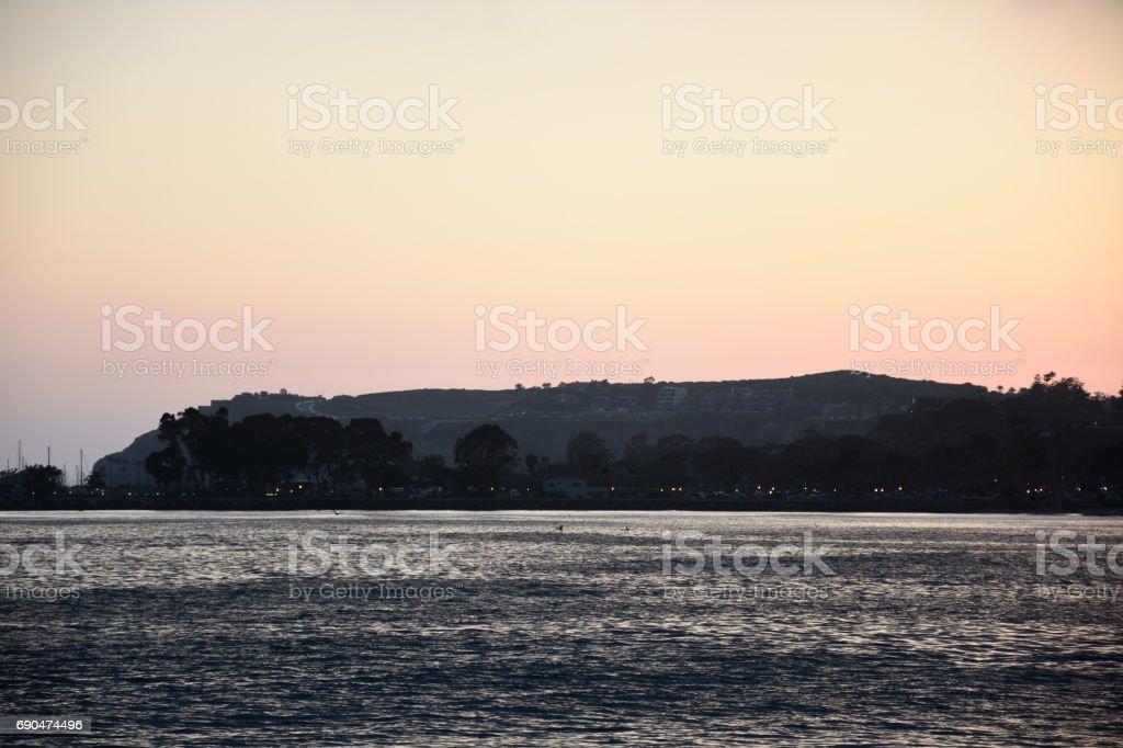 Capo Beach Sunset stock photo