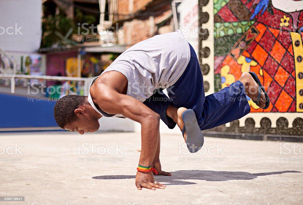 Capoeira culture stock photo