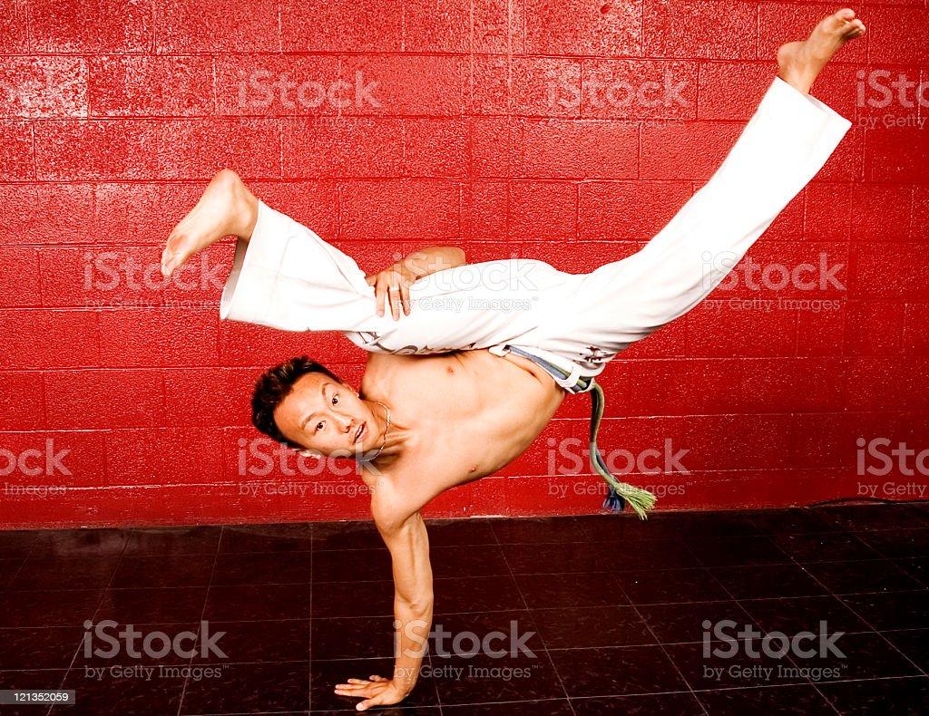 Capoeira Moves stock photo