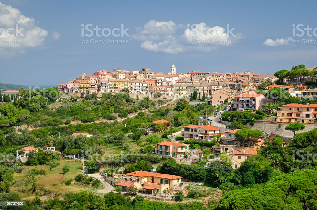 Capoliveri, Isola d'Elba (Italy) stock photo