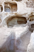 Cappadocia cave house detail