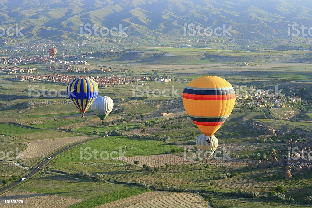 Cappadocia hot air ballon royalty-free stock photo