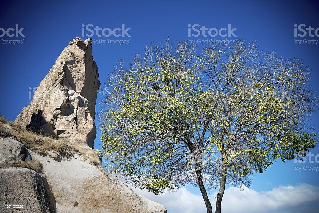 Cappadocia in Turkey royalty-free stock photo