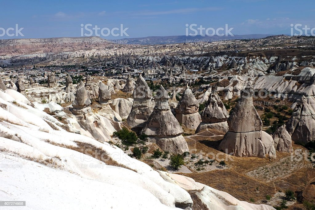 Cappadocia Panoromic View stock photo