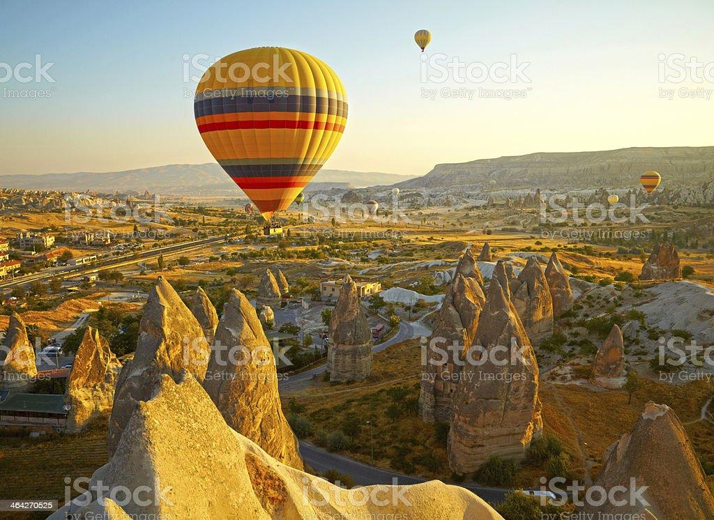 Cappadocia. Turkey stock photo