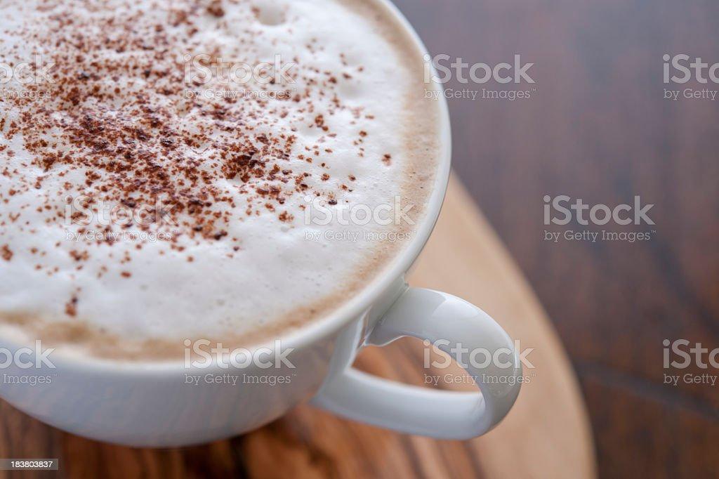 Cappuccino Coffee stock photo