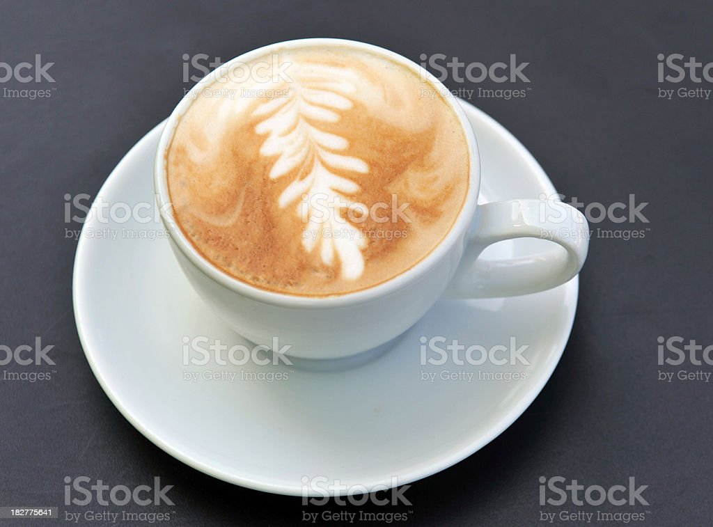 Cappuccino leaf royalty-free stock photo