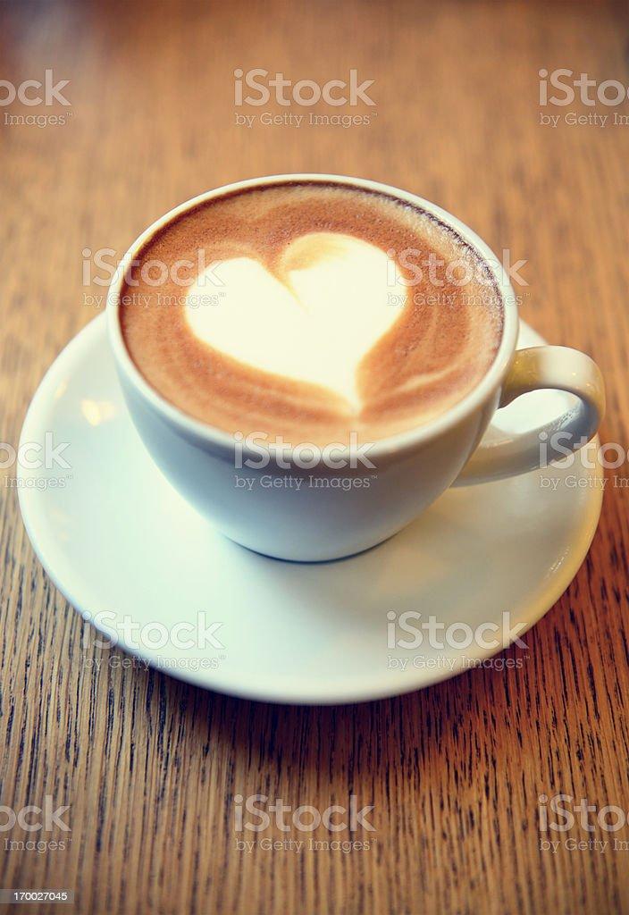 Cappuccino stock photo