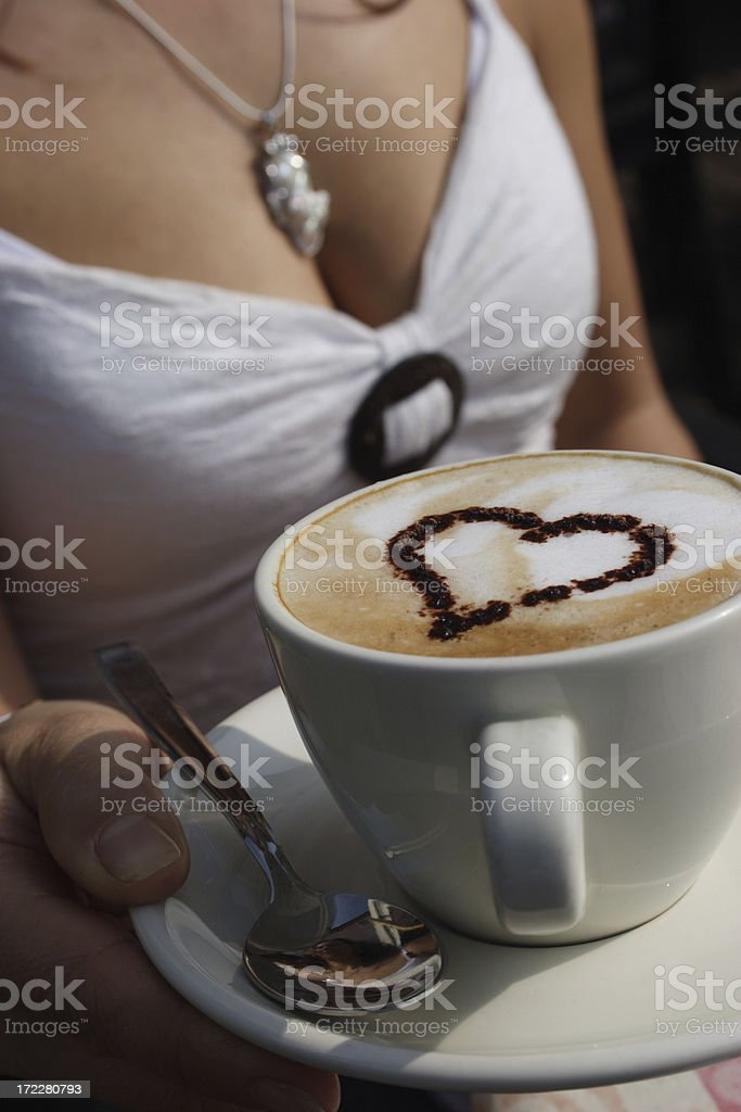 Cappuccino? royalty-free stock photo