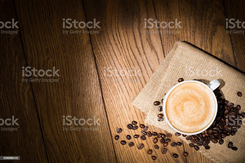 cappuccino stock photo