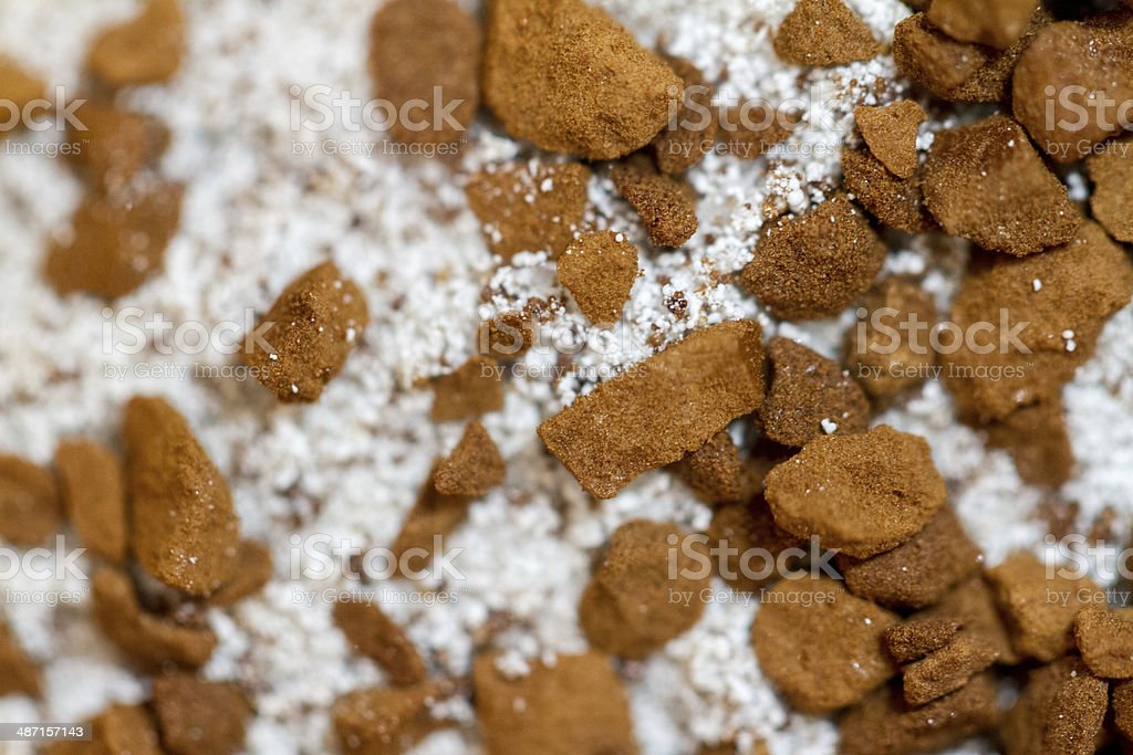 Cappuccino Powder royalty-free stock photo