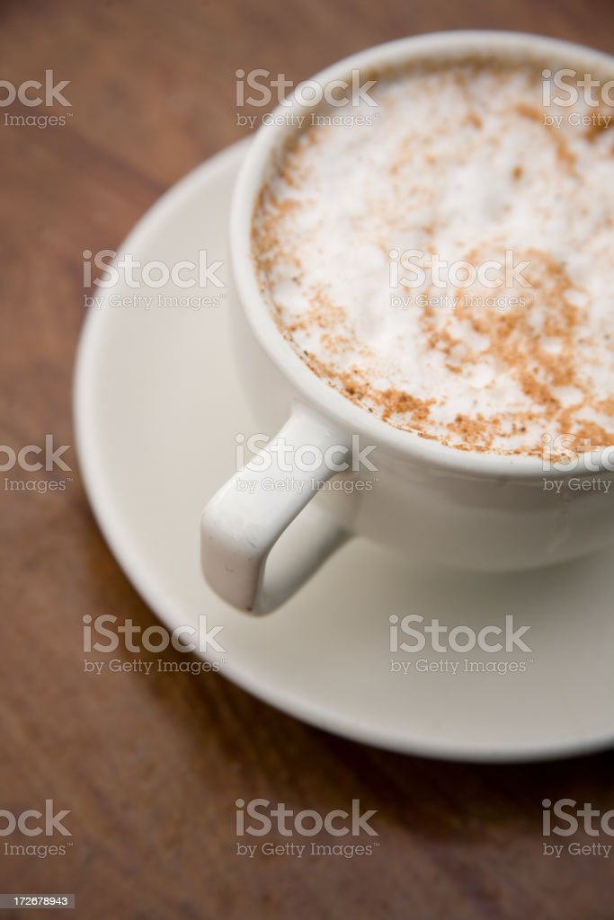 Cappucino royalty-free stock photo