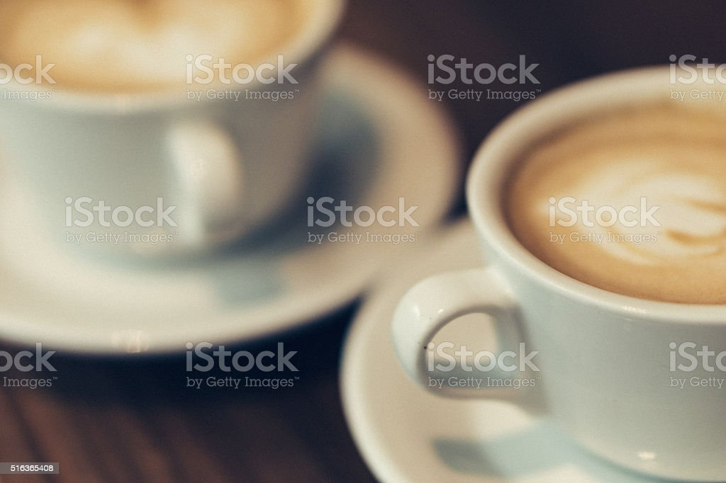 Cappucino stock photo