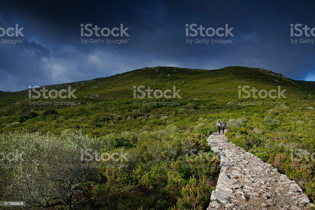 Capraia Island, Arcipelago Toscano National Park, Tuscany, Italy stock photo