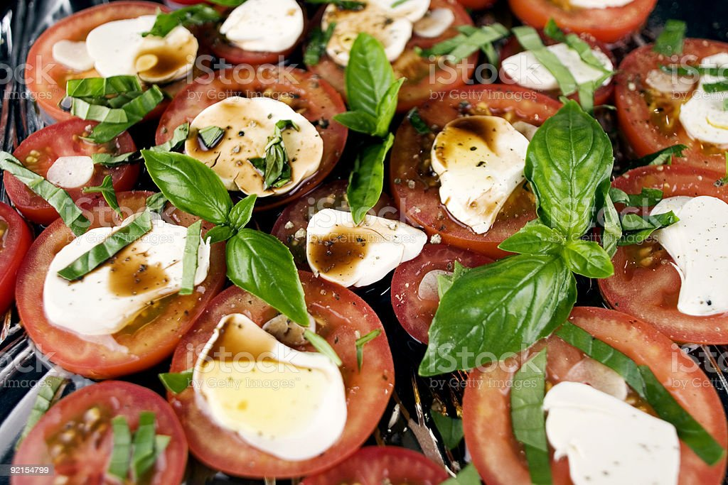 Insalata Caprese royalty-free stock photo