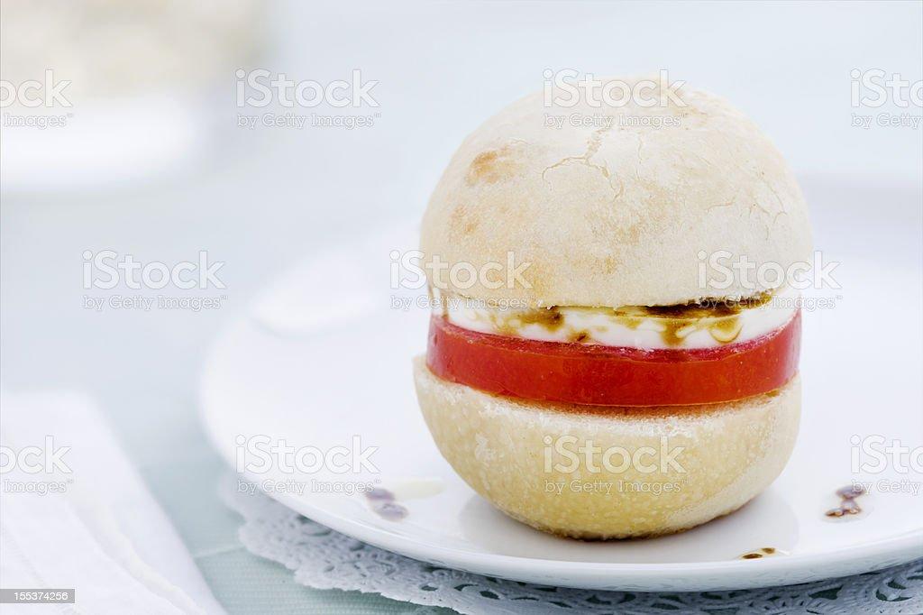 Caprese Sandwich royalty-free stock photo