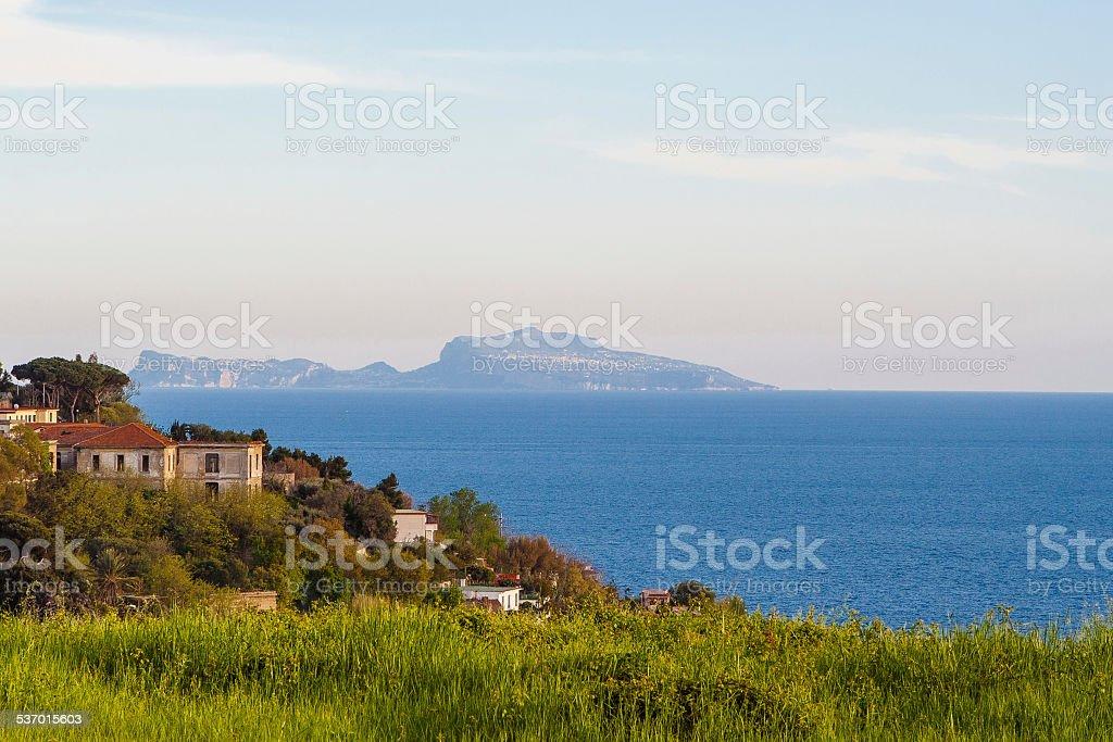 Capri, Bay of Naples, Italy stock photo